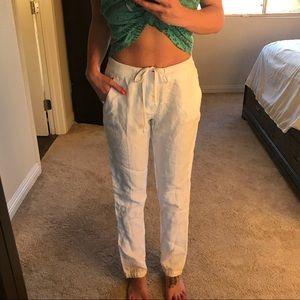 James Perse Linen pants